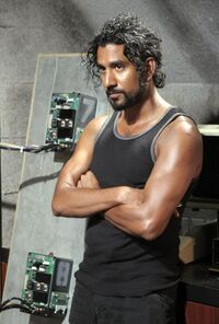 Sayid in Pearl