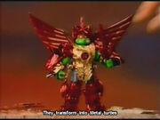 Metal raphael toy