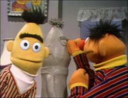 Ernie&#39;s Bert Sculpture