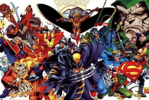 Marvel / DC    amalgam  [saga][completa][español][MF]