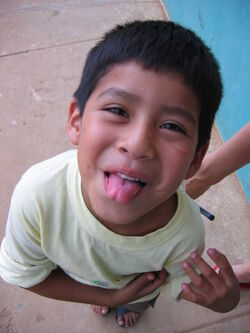 Child tongue