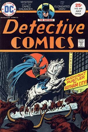 Cover for Detective Comics #449
