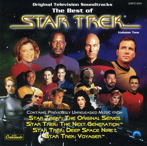 Soundtracks - The Best Of Star Trek, Volume Two