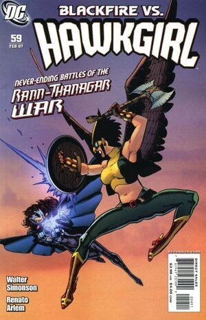 Cover for Hawkgirl #59