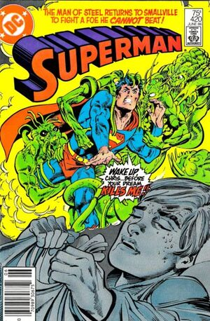 Cover for Superman #420