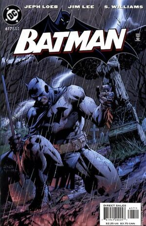 Cover for Batman #617