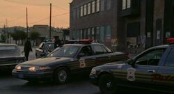 Detroit police cars loomis