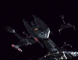 Vorcha fleet, battle ds9