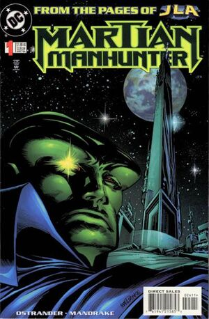 Cover for Martian Manhunter #1