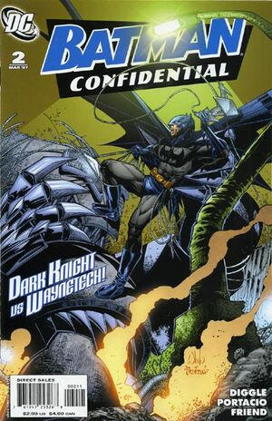 Cover for Batman Confidential #2 (2007)