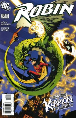 Cover for Robin #158