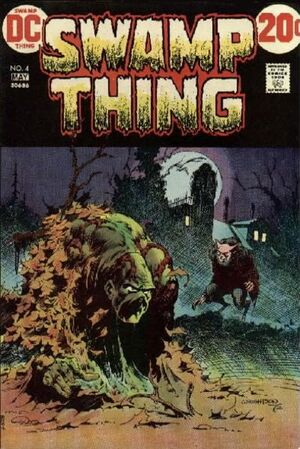 Cover for Swamp Thing #4