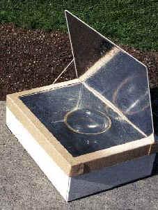 Cocina solar minima for Planos de cocina solar