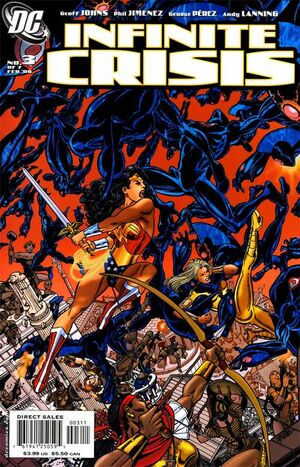 Cover for Infinite Crisis #3