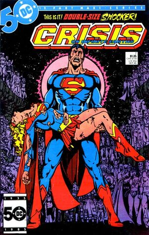 Cover for Crisis on Infinite Earths #7