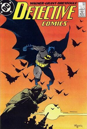 Cover for Detective Comics #583