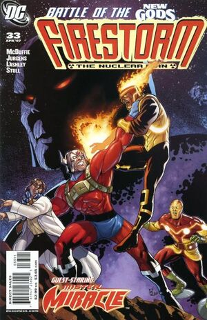 Cover for Firestorm #33