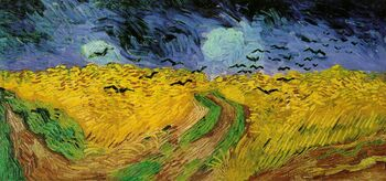 Vincent van Gogh (1853-1890) - Wheat Field with Crows (1890)