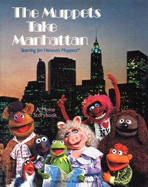 TheMuppetsTakeManhattanBook