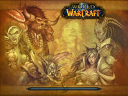 The Burning Crusade Kalimdor loading screen