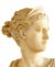 Greek deity head icon