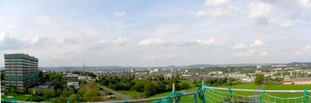 Giessen Panorama vom Physikgebude