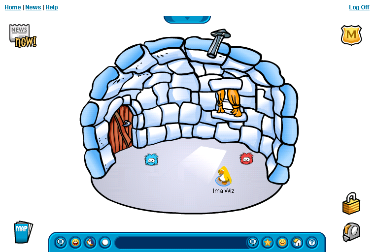 Imagine Wizard on clubpenguin 1