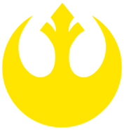 Rebel symbol Yellow