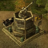 Generals Artillery Platform