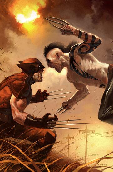 Resultado de imagen para daken vs wolverine comic