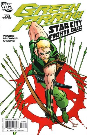 Cover for Green Arrow #73
