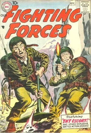 Cover for Our Fighting Forces #27