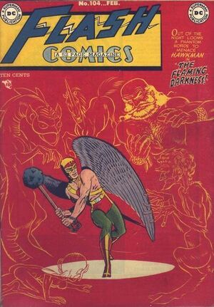 Cover for Flash Comics #104
