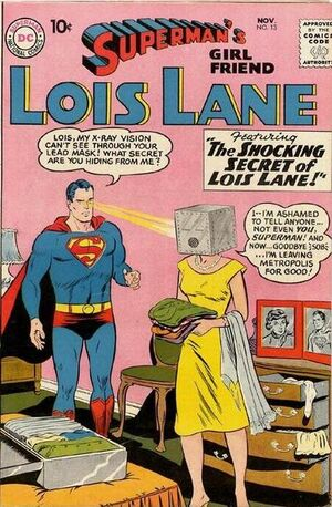 Cover for Superman's Girlfriend, Lois Lane #13