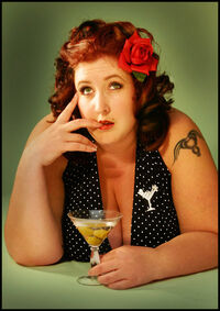 Fat Martini Woman