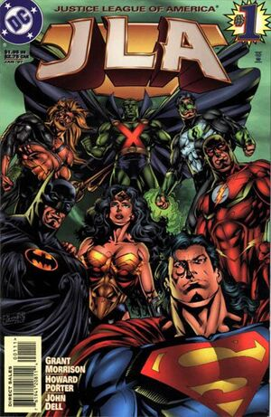 Cover for JLA #1