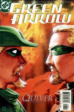 Cover for Green Arrow #8