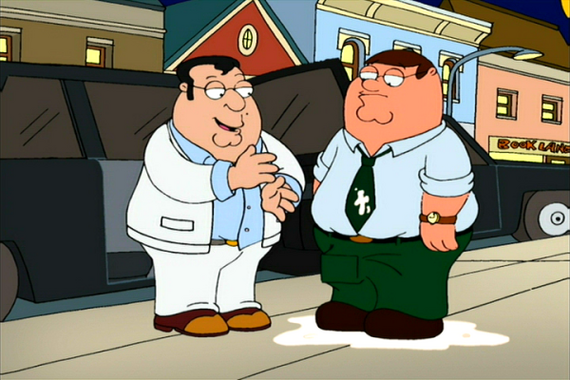 Family Guy Season 2 Episode 16 There's Something About Paulie