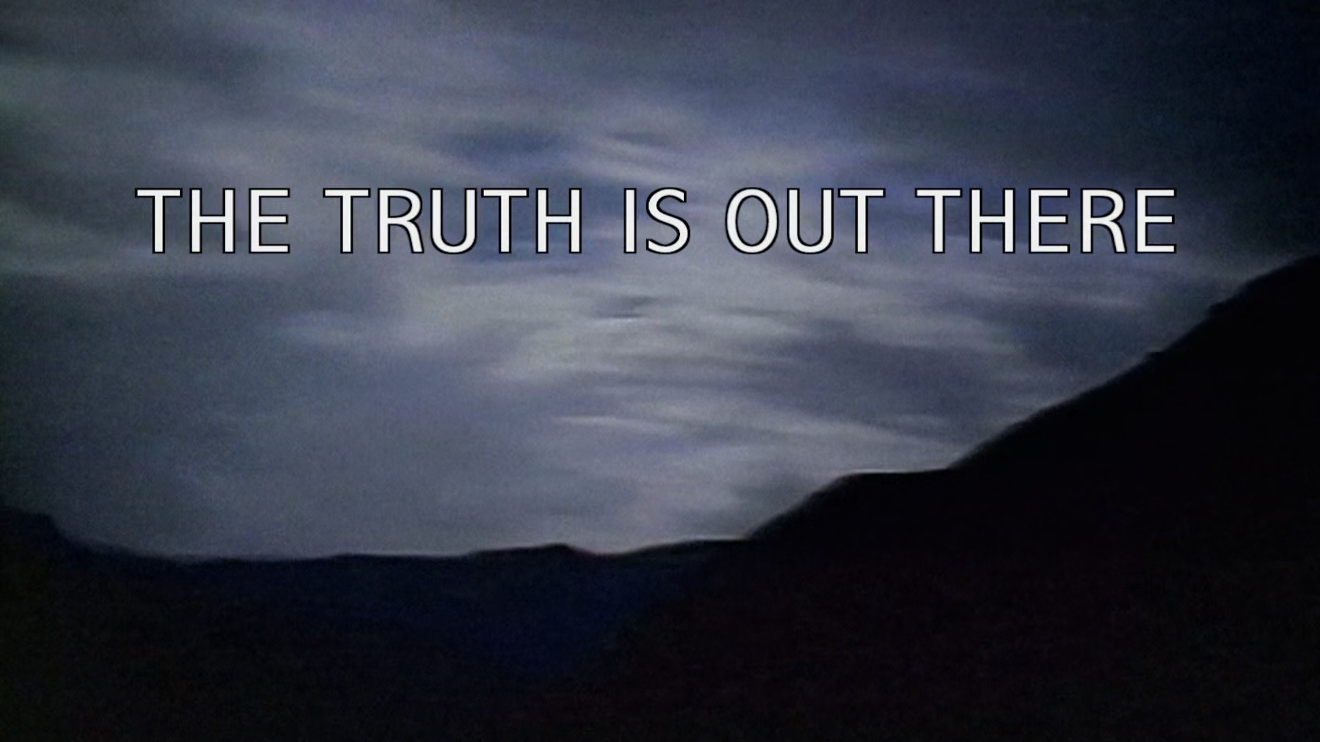 X Files The Truth Is Out There Poster 9/11, Bishop Williamso...