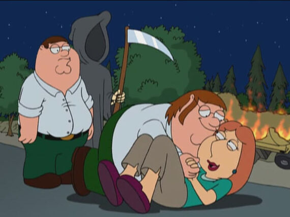 Family Guy Season 3 Episode 6 Death Lives