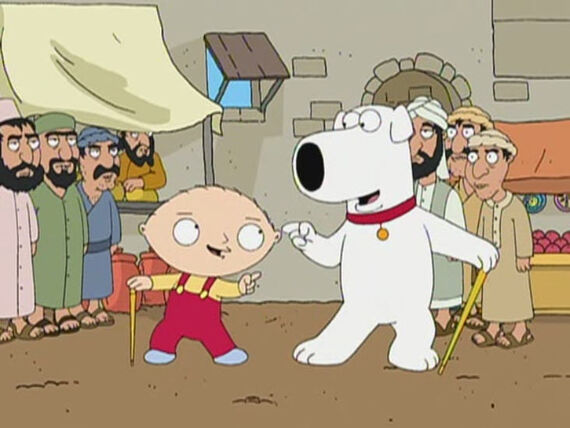 Family Guy Season 3 Episode 20 Road to Europe