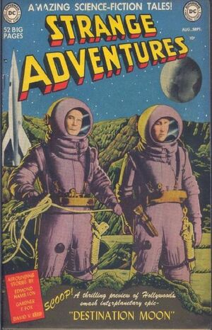 Cover for Strange Adventures #1