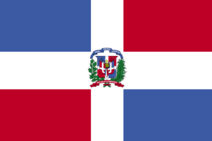 Dominican republic flag 300