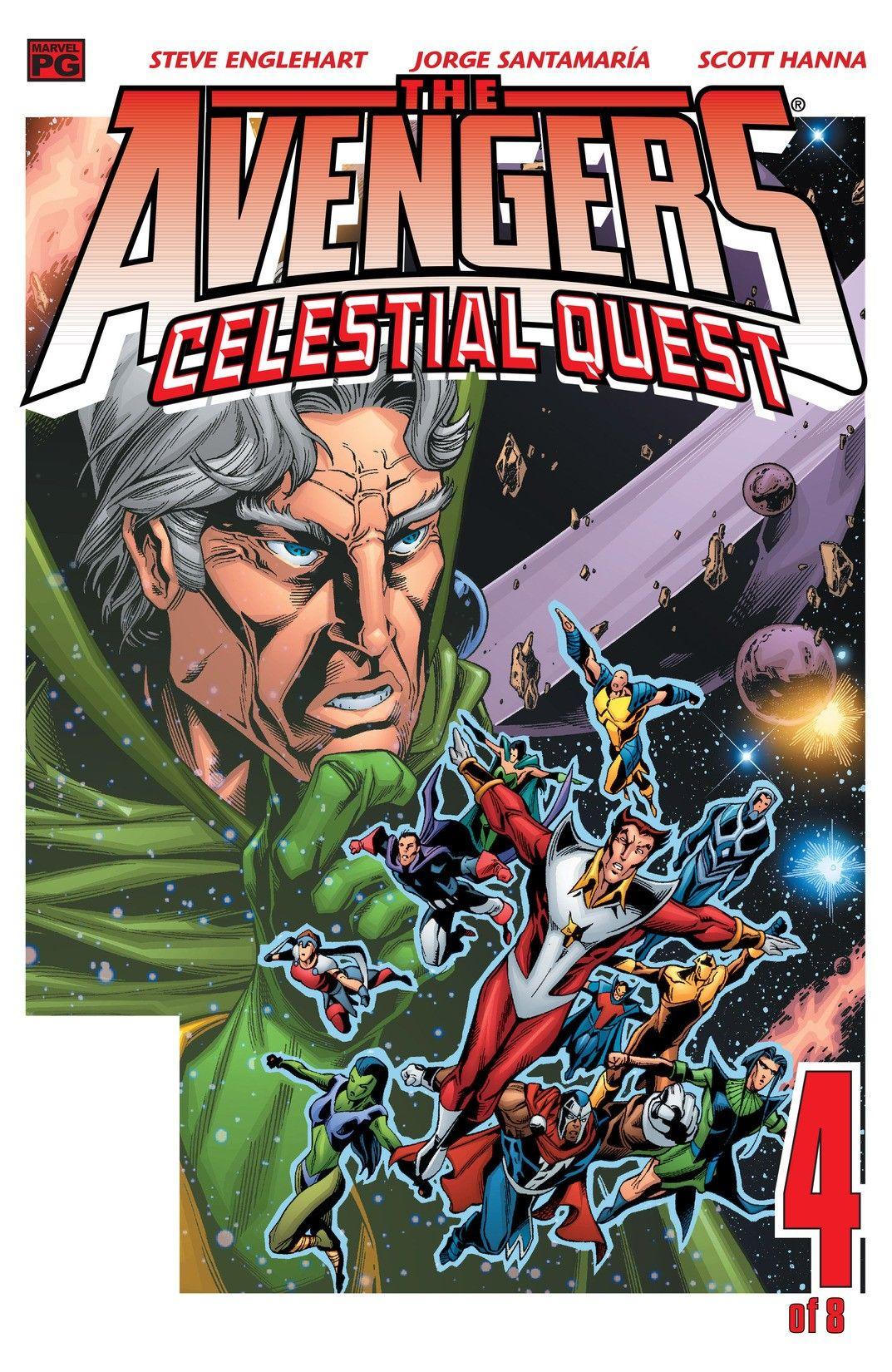 COLECCIÓN DEFINITIVA: GRANDES SAGAS MARVEL [UL] [cbr] Avengers_Celestial_Quest_Vol_1_4