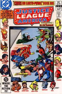 Justice League of America 207