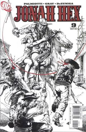 Cover for Jonah Hex #9