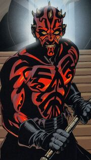 Darth Maul zornig