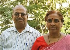 Ravindra and Shobha Pardeshi