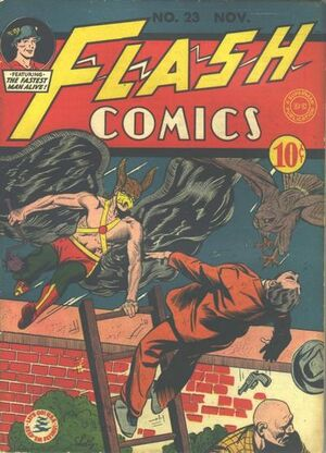 Cover for Flash Comics #23