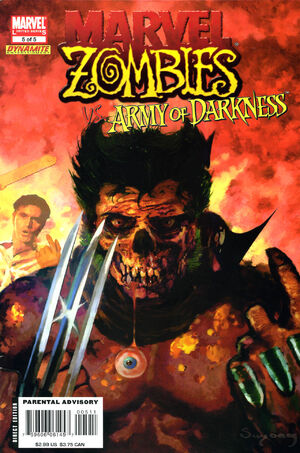 Marvel Zombies Vs. Army of Darkness Vol 1 5